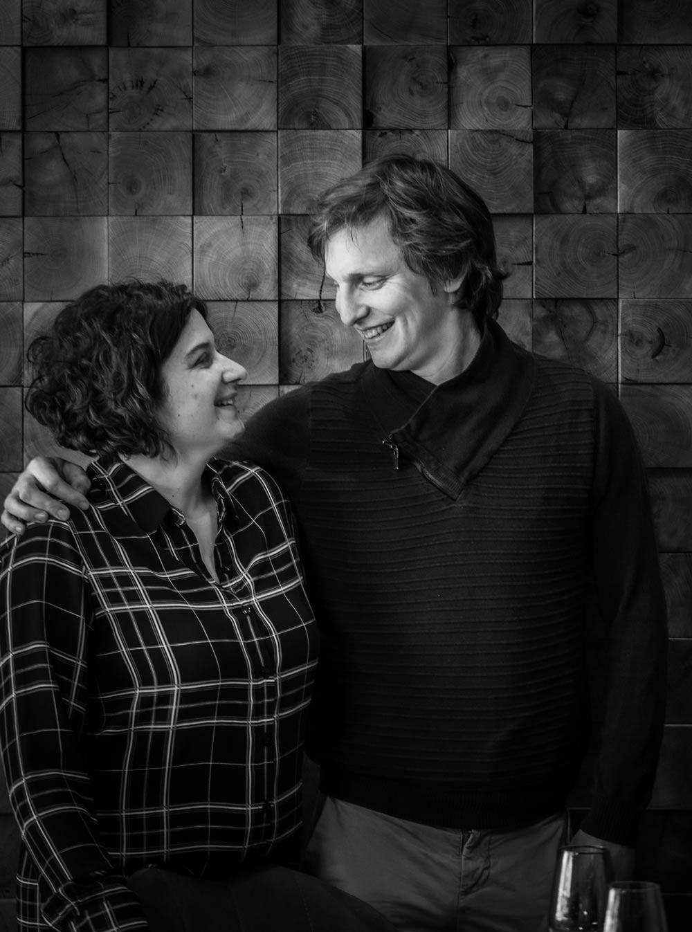 Émilie et Thomas Roussey, chefs du restaurant gastronomique ET à Rodez en Aveyron