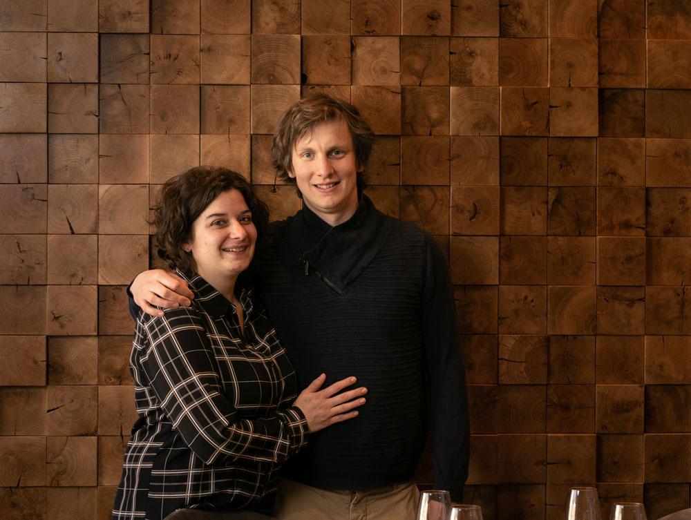 Émilie et Thomas Roussey, les deux chefs du restaurant ET, pour une cuisine instinctive et engagée