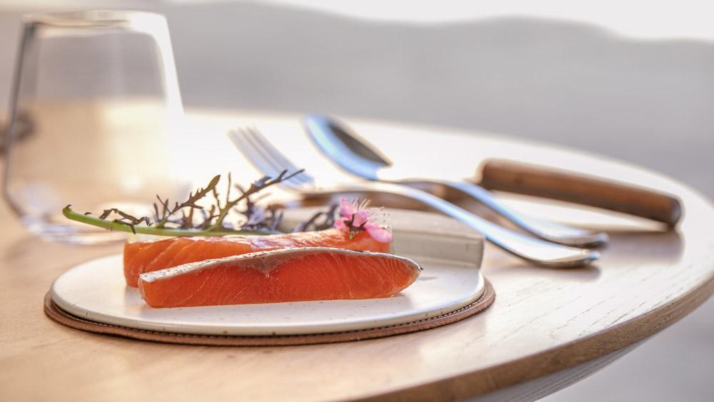 Exemple de plat raffiné proposé par les chefs Émilie et Thomas