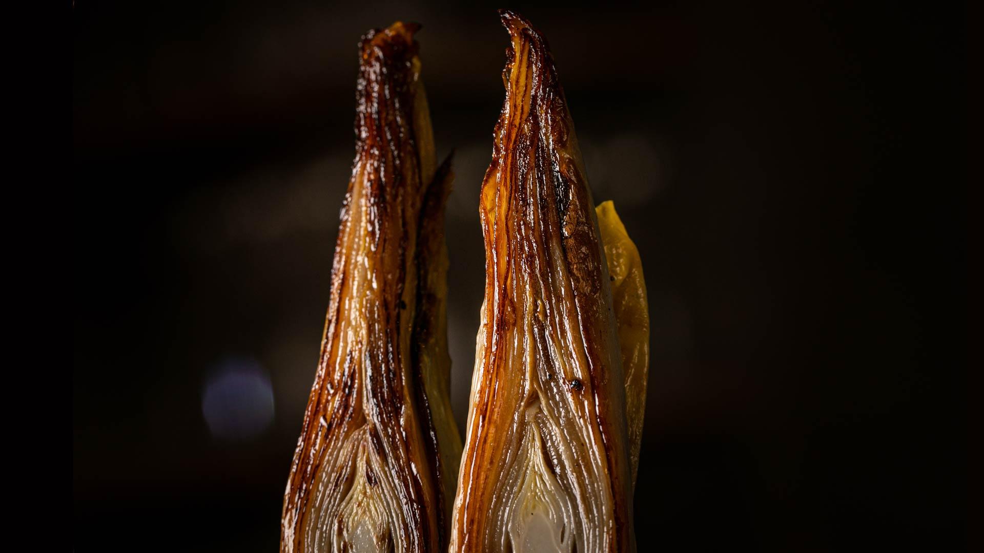 Produits de saison cuisinés par deux chefs aveyronnais passionnés